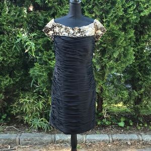 Terani Couture off the shoulder dress